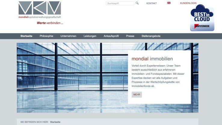 Mit vOffice bekommt der Kapitalverwalter mondial einen zeitgemäßen Cloud-Workspace.