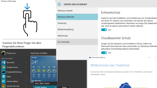 Microsoft Windows 10: 10 Dinge, die Sie nach der Installation von Windows 10 einstellen sollten - Foto: Thomas Joos