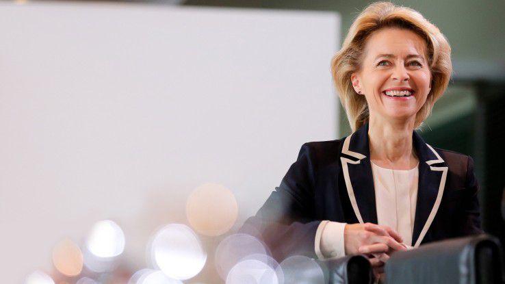 Ursula von der Leyen (CDU), Bundesministerin der Verteidigung