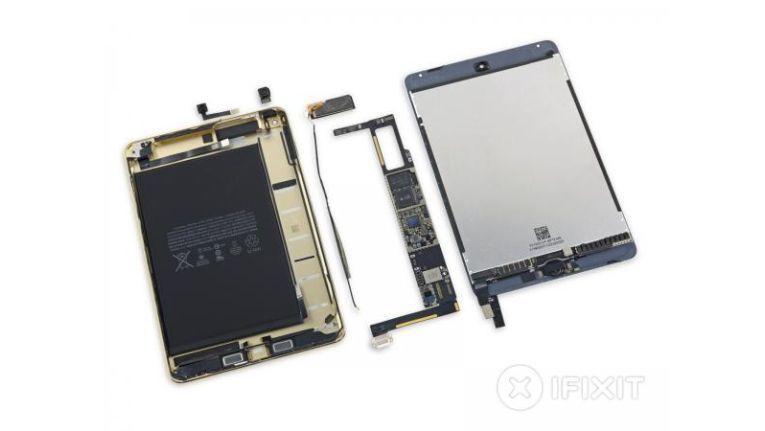 Von iFixit bereits zerlegt: Das neue iPad Mini 4