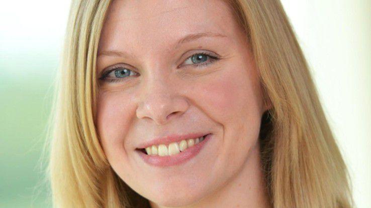 """Sarah Lenger, innobis AG: """"Den Absolventen der Informatik und Wirtschaftsinformatik stehen alle Türen offen."""""""