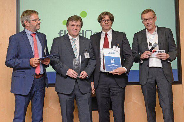 Für das vielleicht komplexeste Projekt im diesjährigen Teilnehmerfeld gab es den Innovationspreis.