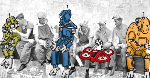 """""""Morgen, Kollege Roboter!"""": 25 Thesen zur Arbeit 4.0 - Foto: Deutsche Telekom/Universität St. Gallen"""