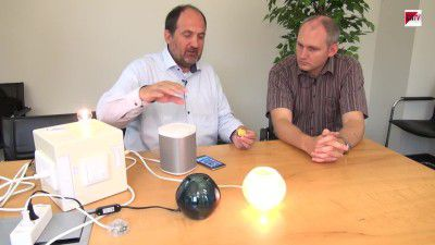 Live-Demonstration: Home, Smart Home