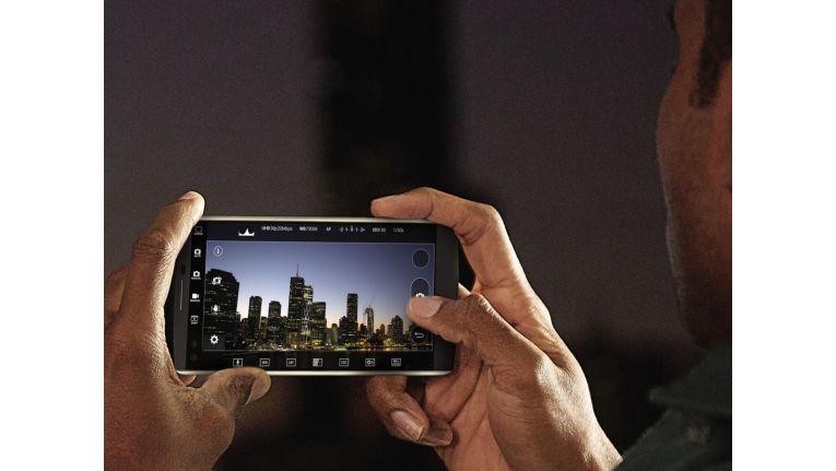 Manueller Kameramodus des LG V10