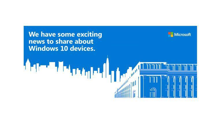 Auf dem Event in New York wird Microsoft primär neue Hardware vorstellen.