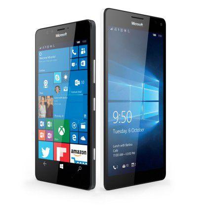 Die neuen Windows-10-Smartphones Lumia 950 und 950 XL sind jetzt im Handel erhältlich.