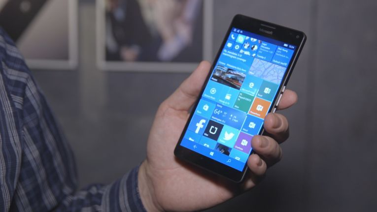 Lumia 950 XL mit Windows 10 Mobile