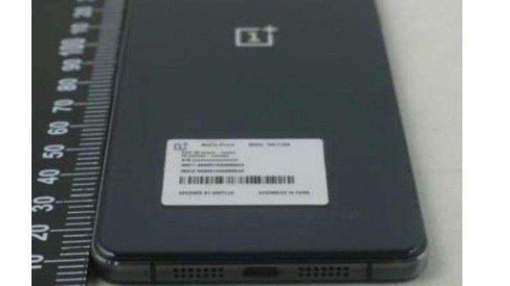 Dieses Photo soll das dritte Smartphone des chinesischen Herstellers OnePlus zeigen.