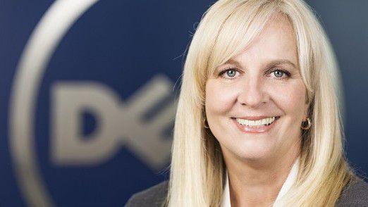 Doris Albiez, Deutschlandchefin von Dell EMC, ist mit von der Partie.
