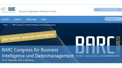 BARC Congress 2015: Digitalisierung erfordert neue BI-Strategie - Foto: BARC