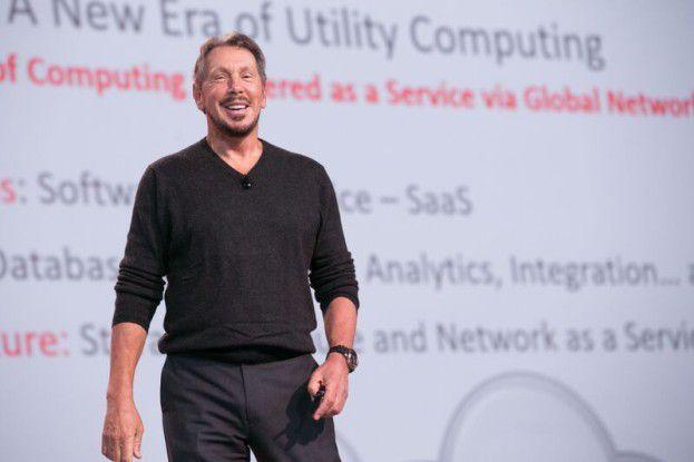 Oracle-Gründer Larry Ellison ist sich sicher: Die Kunden steigen um in die Oracle-Cloud.