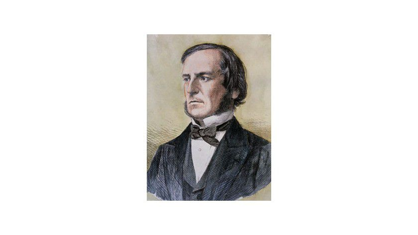 George Boole (um 1860)