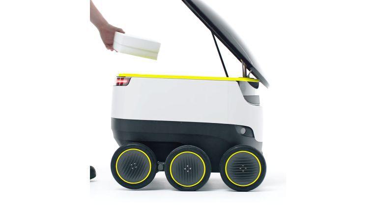 Mit solchen Zustell-Robotern will Starship Technology an den Start gehen.
