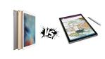 Technische Daten im Vergleich : Microsoft Surface Pro 4 vs. Apple iPad Pro - Foto: Apple, Microsoft, Artoptimum - shutterstock.com, Florian Maier