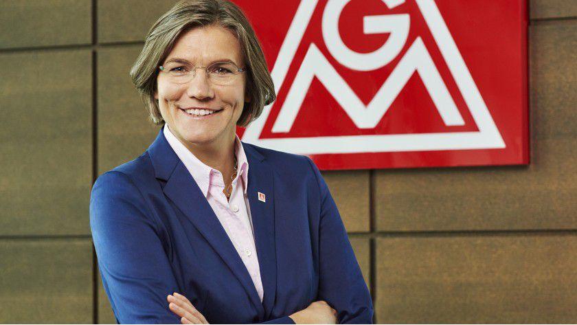 Christiane Benner ist geschäftsführendes Vorstandsmitglied bei der Ig Metall.