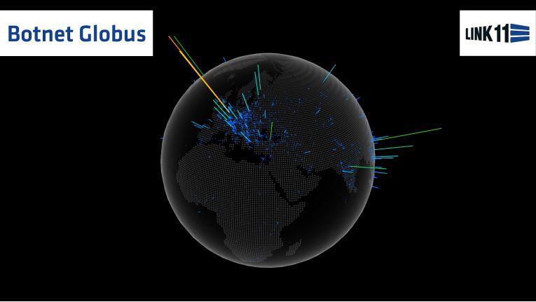 Beispiel für die internationale Verteilung eines Botnetzes. Die Erkennung und Abwehr muss deshalb ebenso grenzüberschreitend sein wie der Datenaustausch als Basis der Security-Analyse.