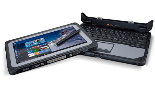 Toughbook CF-20: Panasonic baut robusten Notebook-Tablet-Hybriden - Foto: Panasonic