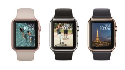 Smartwatches: Apple Watch trotzt dem Trend - Foto: Apple