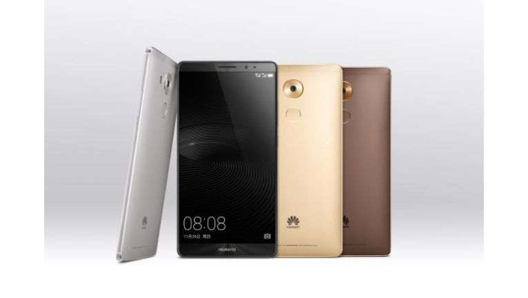 Das Huawei Mate 8 mit 6-Zoll-Display und Octacore-Prozessor
