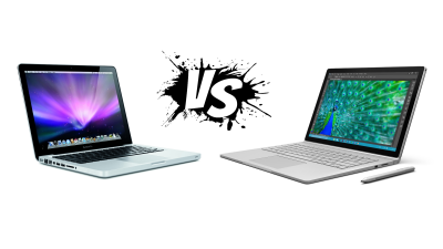 Apple vs. Microsoft - Technische Daten im Vergleich: Macbook Pro vs. Surface Book - Foto: Apple, Microsoft, Artoptimum - shutterstock.com, Florian Maier