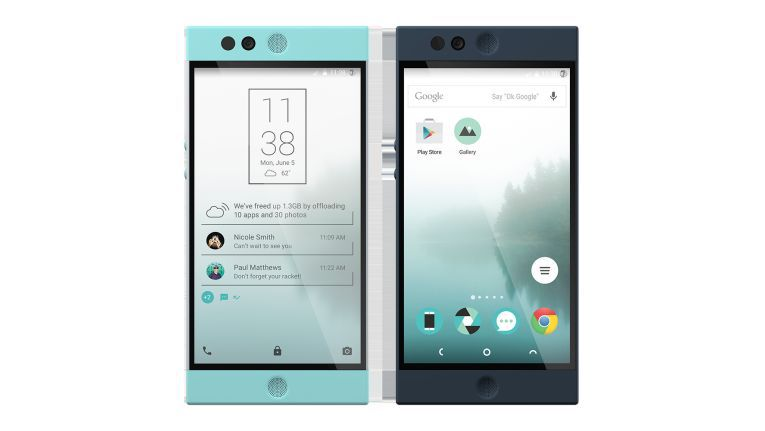 Homescreen des Nextbit Robin
