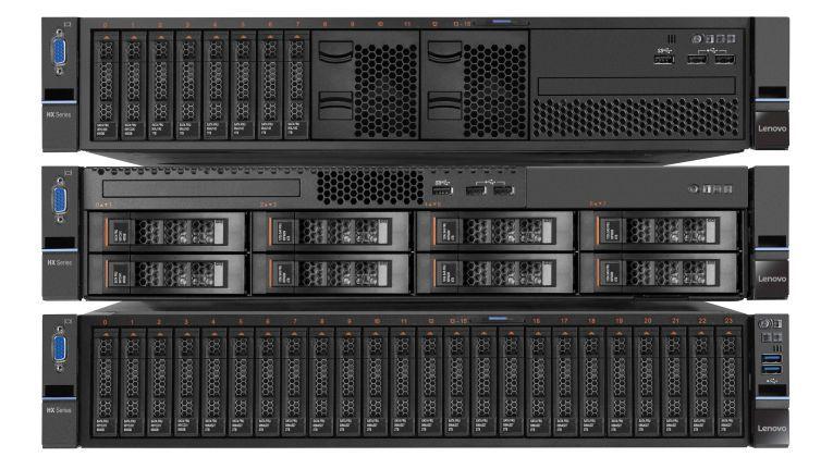 Lenovo HX-Serie: Mit der Converged HX-Serie will der Hersteller die Komplexität im Rechenzentrum spürbar reduzieren.