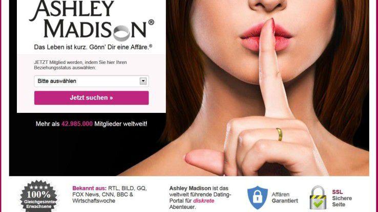 Dewr Hack des Seitensprungportals Ashley Madison hatte zahlreiche Folgen.