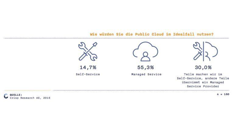Nutzungsarten der Public Cloud