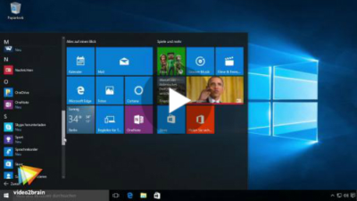 Videoanleitungen: Neu in Windows 10 - Edge und virtuelle Desktops