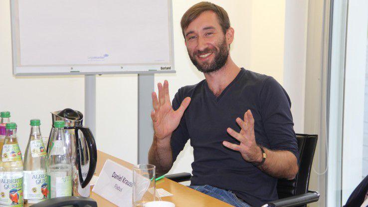 """Daniel Krauss, Flixbus: """"Jeder muss wissen, wo es hingeht, und selbst entscheiden können, wie er dahin kommt. Dazu gehört gegenseitiges Vertrauen, aber auch die beidseitige Offenheit für Diskussionen."""""""