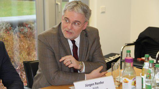 Jürgen Renfer, CIO der KUVB