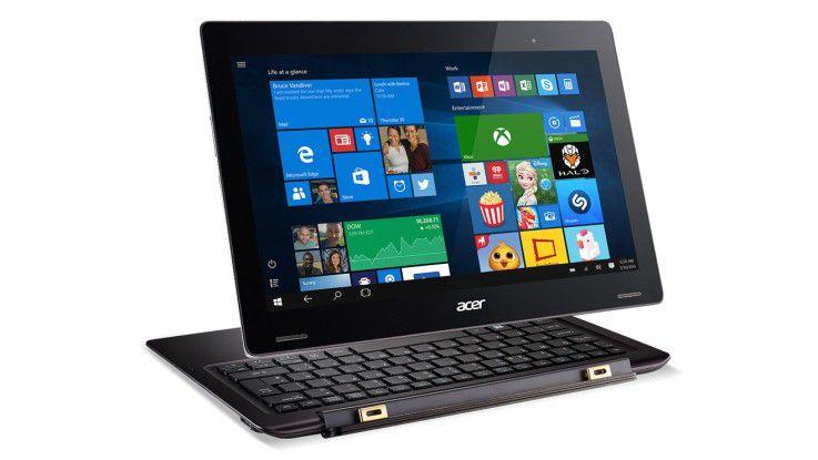 Für den Office-Einsatz ist das Aspire Switch 12 S Pro mit dem Acer Graphics Dock kompatibel.