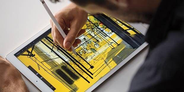 """Das große iPad Pro ist nicht nur für """"Kreative"""" geeignet, sondern kann auch den PC im Haushalt ersetzen."""