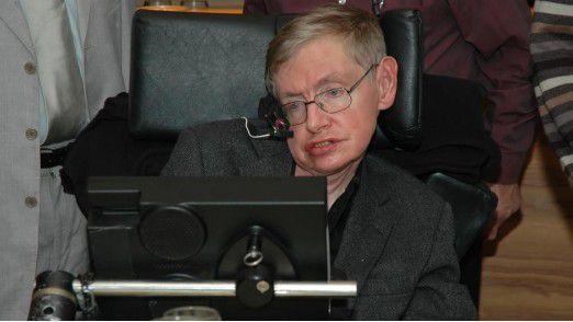 Der britische Physiker Stephen Hawking sieht das Potenzial von Künstlicher Intelligenz, warnt aber auch vor den Risiken.