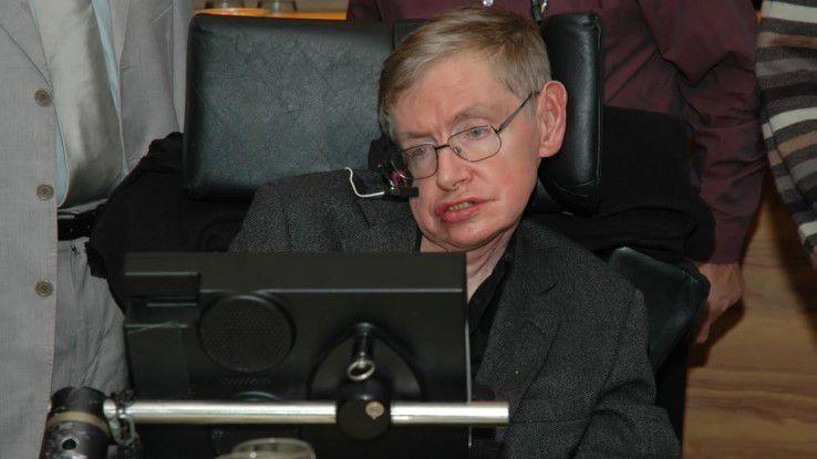 Physiker Stephen Hawking warnt eindringlich vor den Gefahren des technologischen Fortschritts.