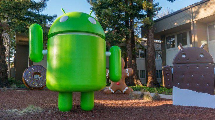 Auch Google wird häufig vom FBI aufgefordert, ein Smartphone oder Tablet zu entsperren.