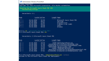 Azure Stack First Look