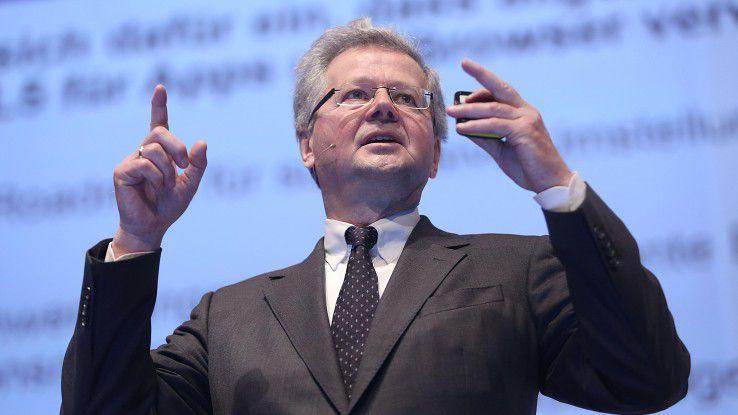 Hans-Achim Quitmann, DSAG-Vostand für den Bereich Technologie, forderte mehr Datenbank-Plattformen zur Auswahl. Neuen Monopolstrukturen erteilte der Anwendervertreter eine klare Absage.