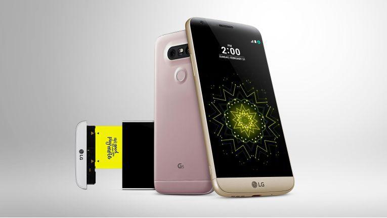 Das neue LG G5 ist modular aufgebaut, so dass der Akku gewechselt werden kann.
