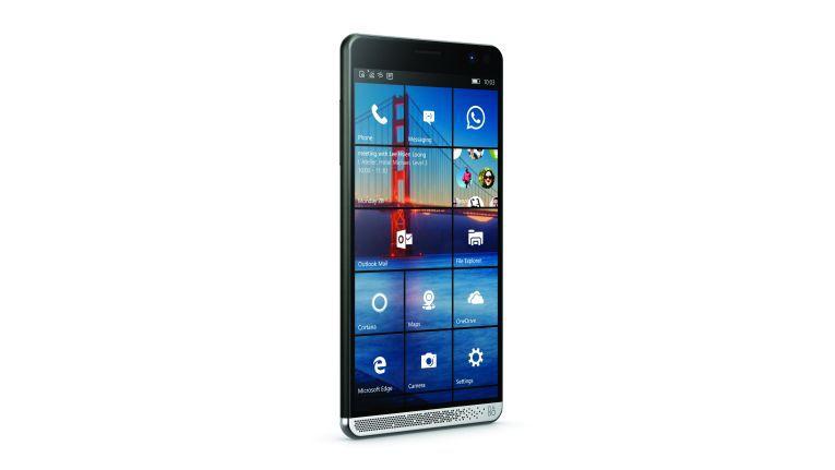 Das HP Elite x3 besitzt als erstes Windows-Smartphone einen Fingerprint-Sensor.