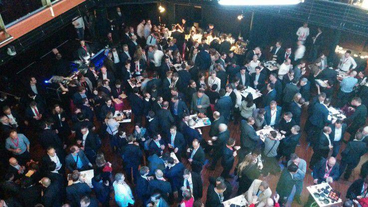 Mit einer großen Party feierte die Telekom die dial-Präsentation in Barcelona.