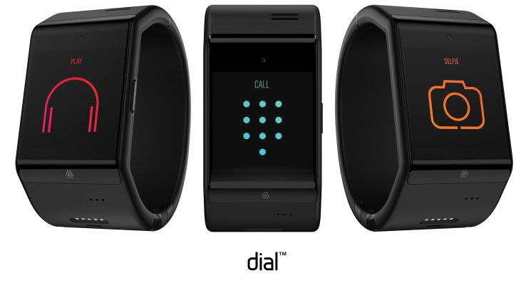 Das Wearable dial ist Smartphone und Uhr zugleich