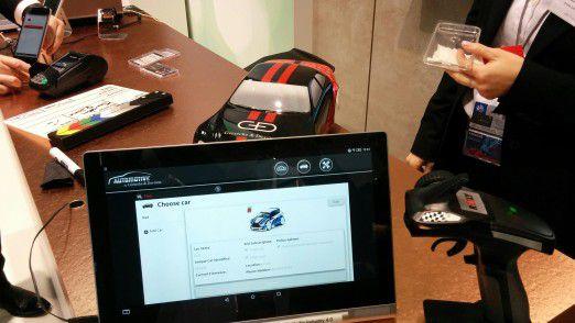 Auf dem MWC demonstrierte G&D mit einem proof on concept, wie ein Secure Gateway ein Connected Car schützen kann-