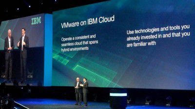 IBM Konferenz InterConnect: VMware zieht es in die IBM-Cloud - Foto: IBM