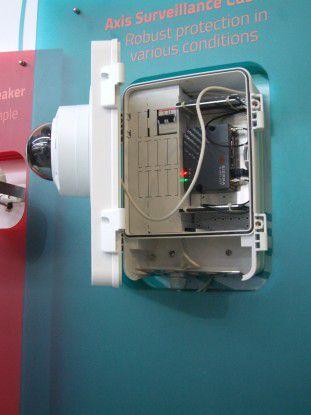 Mit dieser autarken, per LTE vernetzten Kamera, sollen Müllsünder gejagt und zur Kasse gebeten werden.