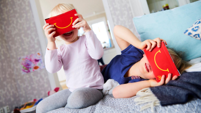 Happy Goggles: McDonalds macht Happy-Meal-Tüte zur VR-Brille