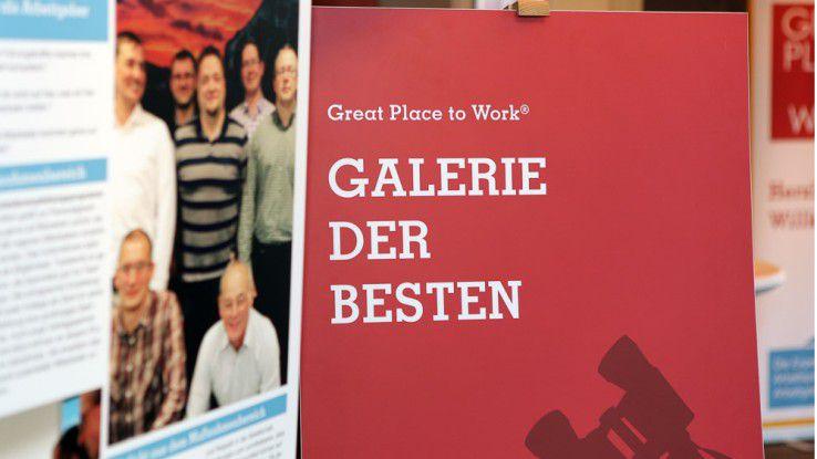 28 der 65 ausgezeichneten Great Places to Work präsentieren sich in einem großén Special.