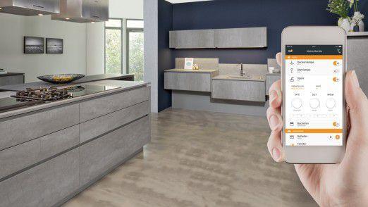 Tielsa:connect: ein Küchenkonzept für smartes Wohnen.