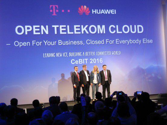 Huawei und Deutsche Telekom